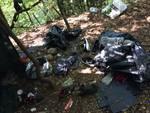 sequestri e bivacchi smantellati boschi di colverde spacciatori