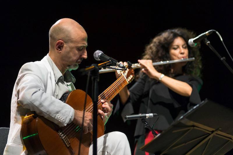 Sergio Lavia e Dilene Ferraz