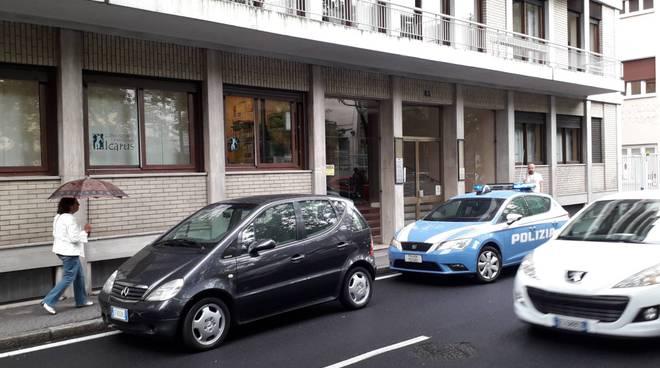 viale varese como polizia rilievi per furto appartamento civico 83