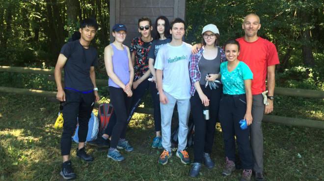 volontari campo circolo ambiente