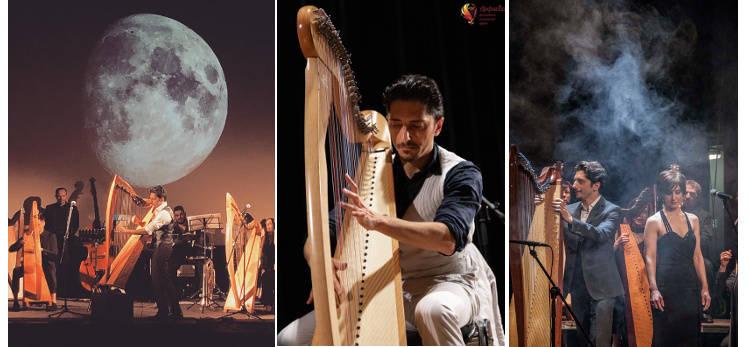 celtic harp orchestra concerto