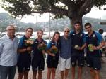 Festa per gli atleti medagliati ai mondiali in FLorida alla Lario: i protagonisti