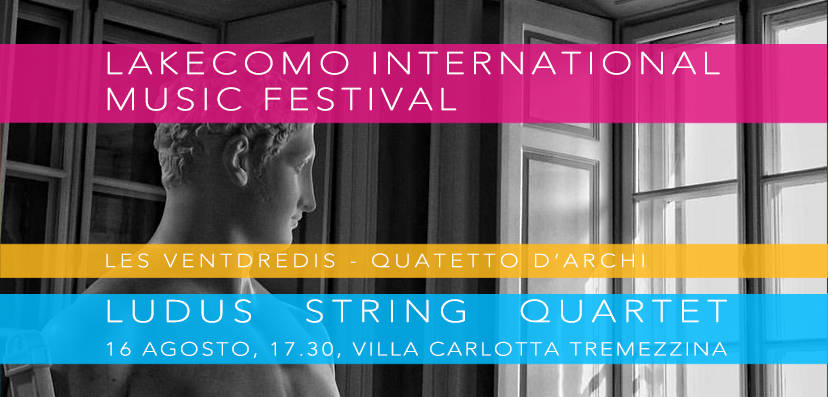 lakecomo festival quartetto ludus