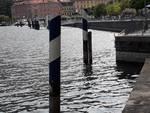 livello del lago di como in discesa immagini riva lungolago