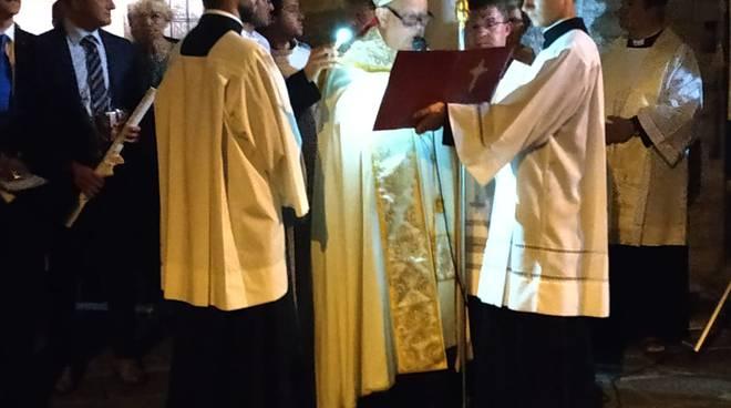 Sant'Abbondio, il discorso del Vescovo alla città