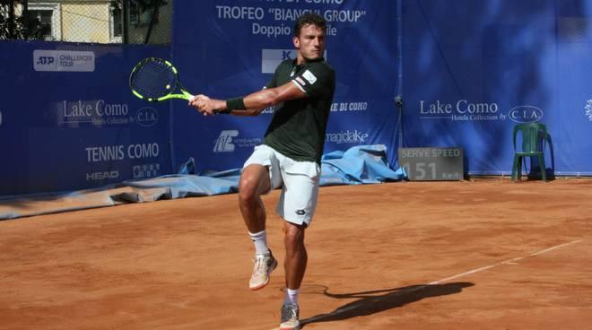 terza giornata challenger di tennis a villa olmo arnaboldi in doppio