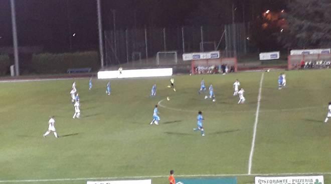 acf como calcio femminile gara coppa italia notturna cantù con azalee