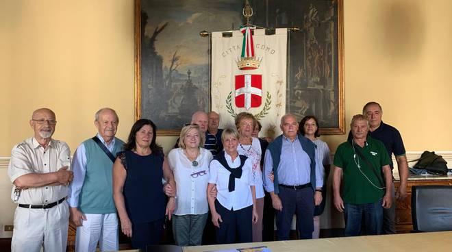 assessore corengia comune di como premiazione volontari per estate insieme 2019