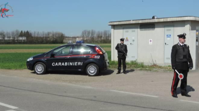 carabinieri mozzate arresto per detenzione di droga giovane di limido