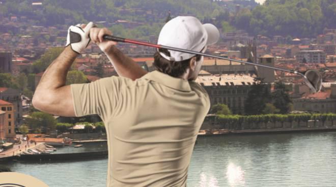 como presentaziuone street golf di domenica locandina organizzatori comune assessore