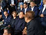derby como monza sinigaglia tifosi berlusconi e marotta in tribuna