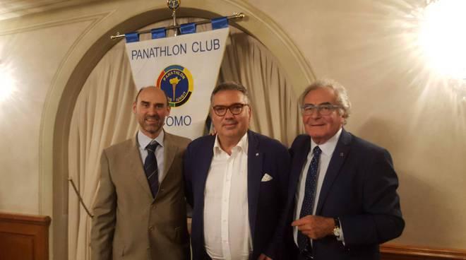 edoardo ceriani nuovo presidente Panathlon di como passaggio con mojoli