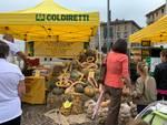 Fiera zootecnica Sant'Abbondio a Como, inaugurazione con sindaco e capi bestiame