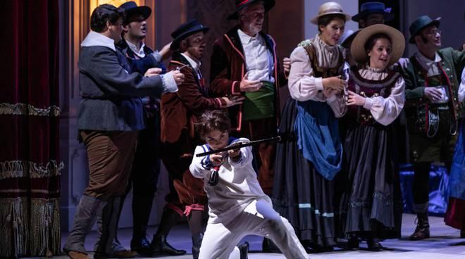 La prima serata del Teatro Sociale di Como con il Guglielmo Tell