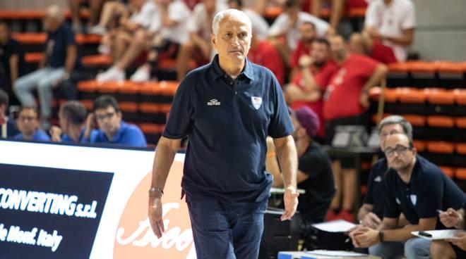 pallacanestro cantù finale memorial giani castelletto ticino e coach Pancotto