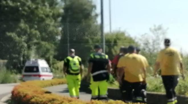 ricerche uomo di tavernerio scomparso zona san fermo con pompieri volontari soccorsi protezione civile