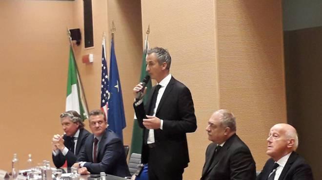 visita delegazione governatori usa a Como in camera commercio incontro con fermi e sindaco