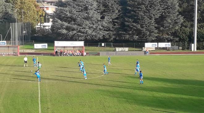 calcio femminile acf como caprera immagini partita a cantù