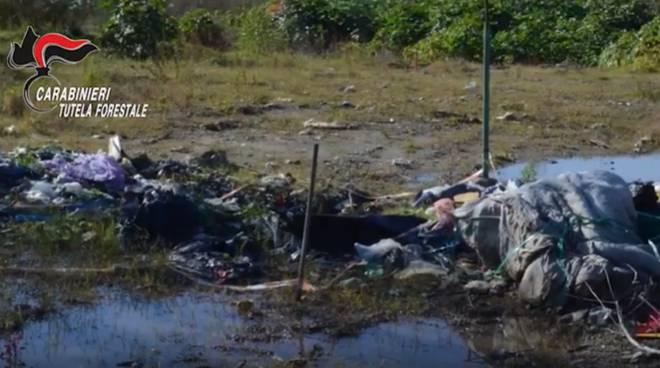 carabinieri tutela patrimonio e traffico illecito rifiuti a como e provincia