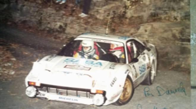 gigi martinelli a ciaocomo diretta sport e sue vecchie auto usate per rally