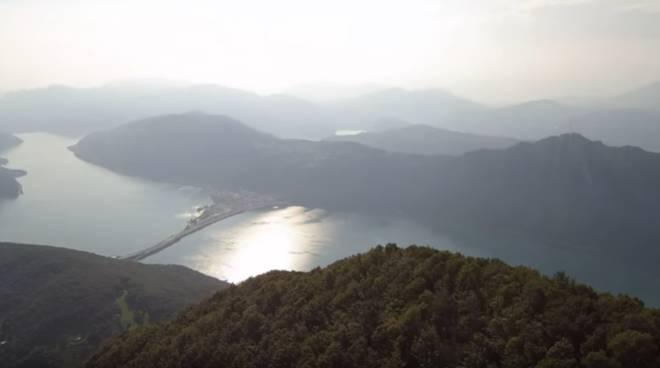 immagini con il drone dal balcone d'italia fatte da nostro lettore