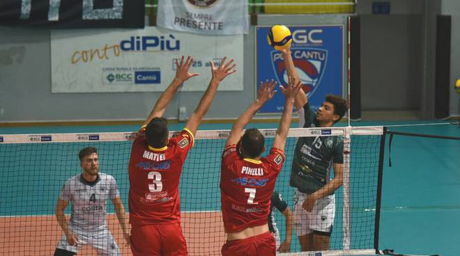 Pool libertas sconfitta in casa contro Conad reggio emilia al Parini
