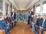 presentazione pool libertas cantù volley maschile sede cassa rurale con sindaco e dirigenti club