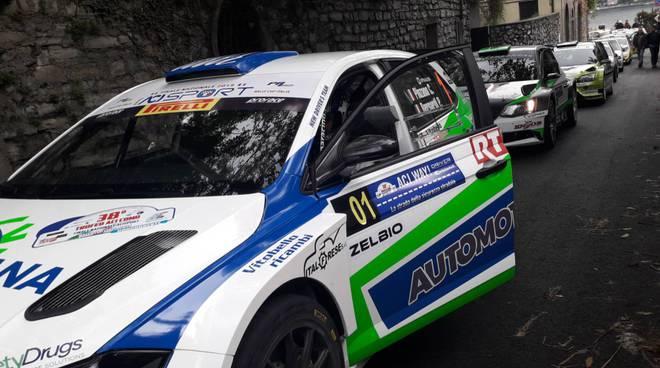 shakedown valfresca per rally aci como 2019