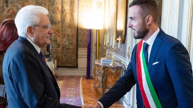 sindaco dizzasco aldo riva ricevuto a roma dal capo dello stato e poi convention poste
