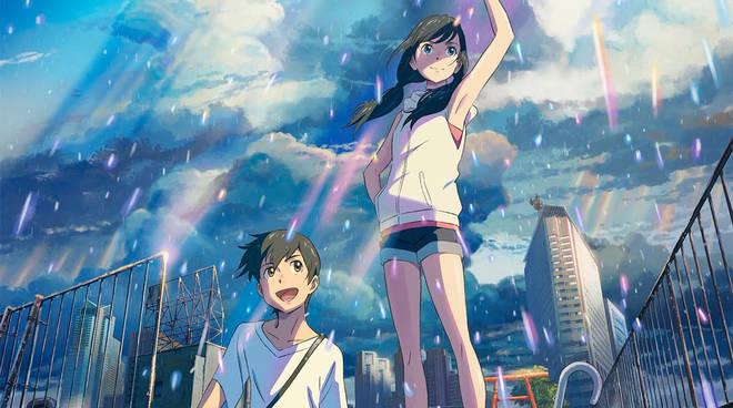WEATHERING WITH YOU manga