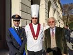 abbondini d'oro 2019 premiazioni villa olmo, premiati con sindaco landriscina
