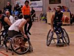 briantea84 basket carrozzina trasferta a padova azioni match