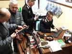 carabinieri menaggio arrestano due uomini di cremia per bracconaggio fucili sequestrati e carabine
