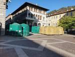 casette in fase di costruzuione como per i balocchi via plinio e piazza grimoldi
