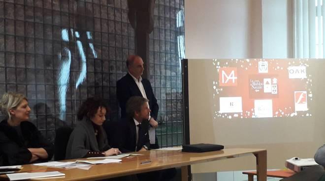 città dei balocchi a cantù presentazione delle iniziative con sindaco assessori e brunati
