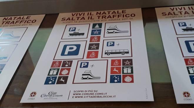 città dei balocchi di como presentazione servizi trasporti con assessore terzi comune e logo