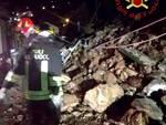 frana rovenna di cernobbio cedimento sassi notte pompieri