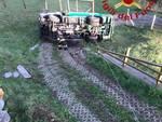 incidente autocisterna rovesciata a Corrido trasporto gpl pompieri soccorso