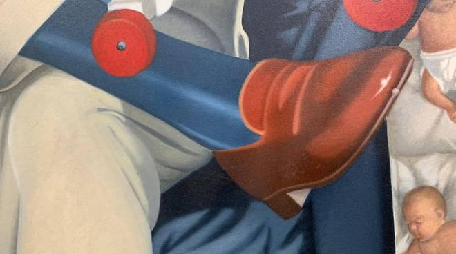 ritratto di pietro catelli artsana esposto in pinacoteca como