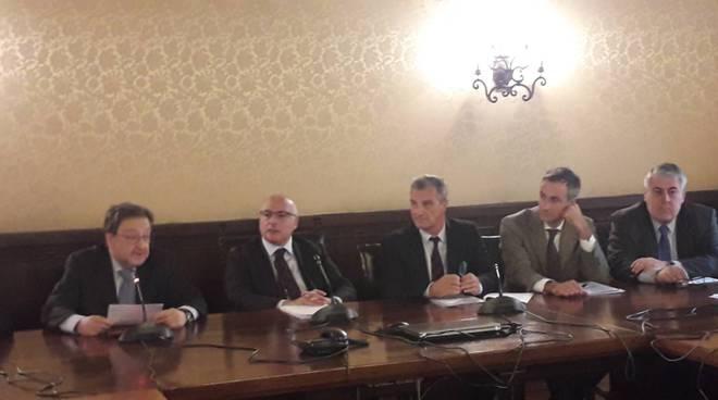 sottoscritto accordo in prefettura como per videosorveglienza DELLA STATALE REGINA