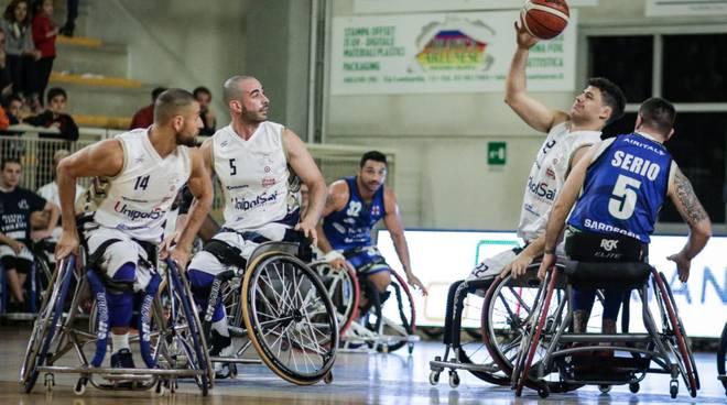 Unipolsai Briantea84 al debutto campionato serie a1 basket carrozzina