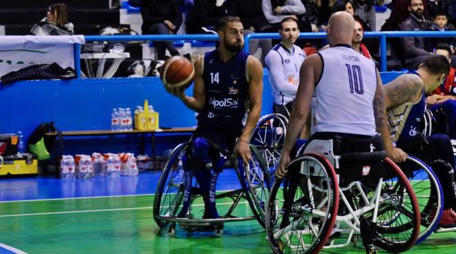 unipolsai briantea84 sconfitta a porto torres basket carrozzina