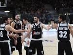 acqua san bernardo cantù superata a Bologna dalla segafredo basket maschile