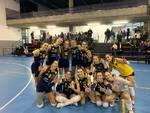 albesevolley b1 femminile foto gruppo dopo successo contro parella in casa
