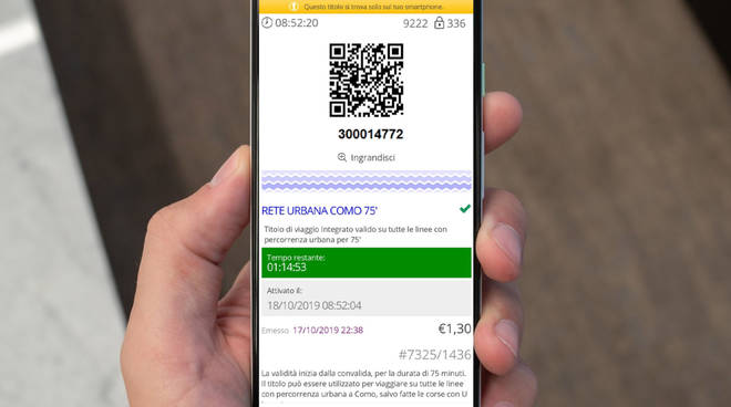 biglietti per il pullman acquistabili sul cellulare da app