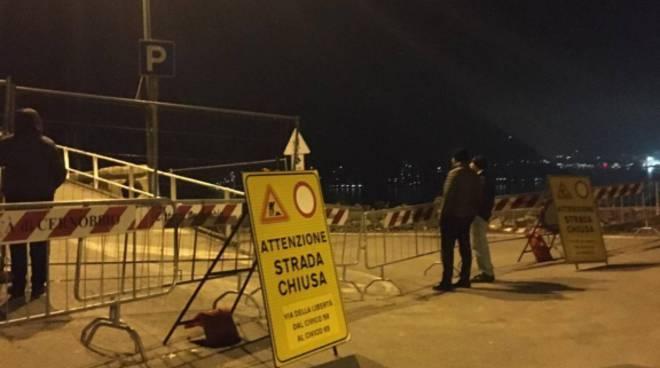 costruzione ponte bailey a cernobbio tutte le immagini dal cantiere