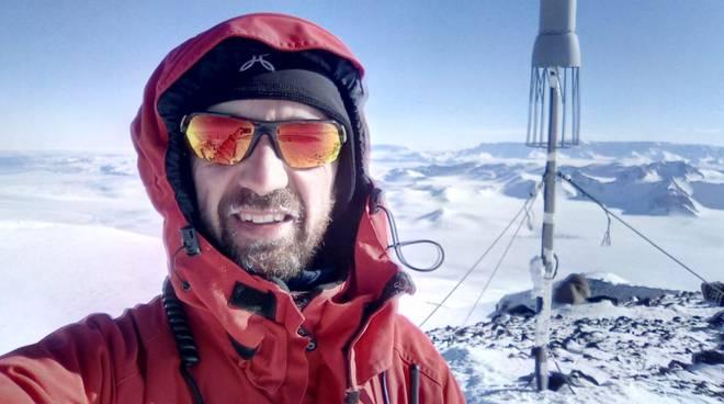Il pompiere di Como ancora in missione tra i ghiacci dell'Antartide