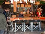 la vita in diretta registra puntata su mattia Mingarelli al Caffecchio di Cantù
