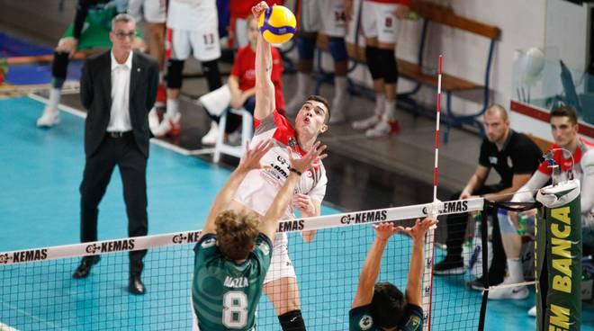 Libertas Cantù sconfitta a Santa Croce volley maschile di A2