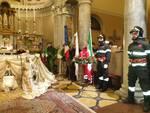 pompieri san fedele celebrata la festa di santa barbara con autorità e cittadini